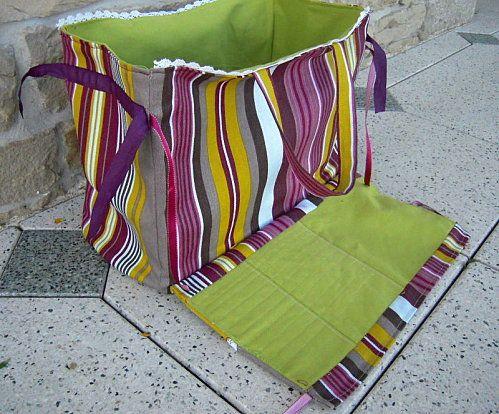 Tuto couture sacs - Tuto sac tricot en tissu ...